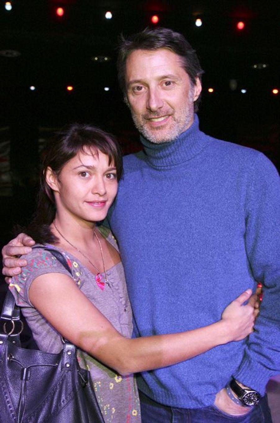 Antoine et Emma de Caunes