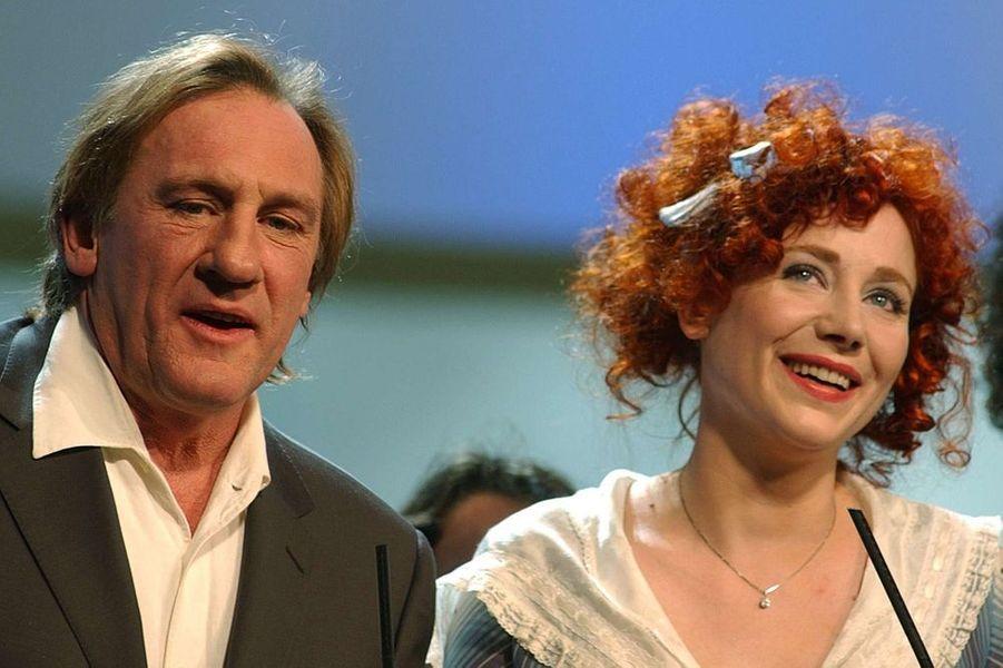 Gérard et Julie Depardieu