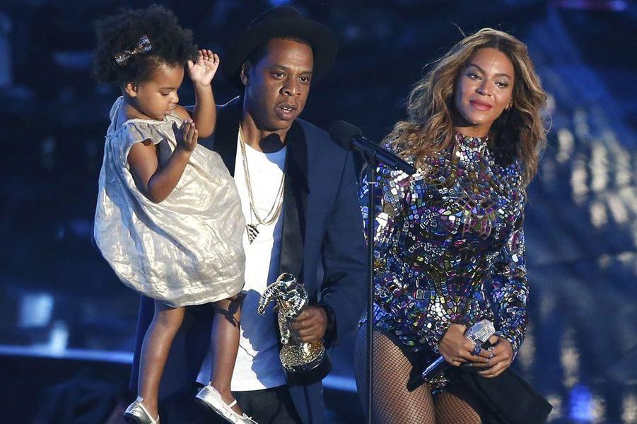 La star du r'n'b et son époux de rappeur sont les parents gaga d'une petite Blue Ivy.