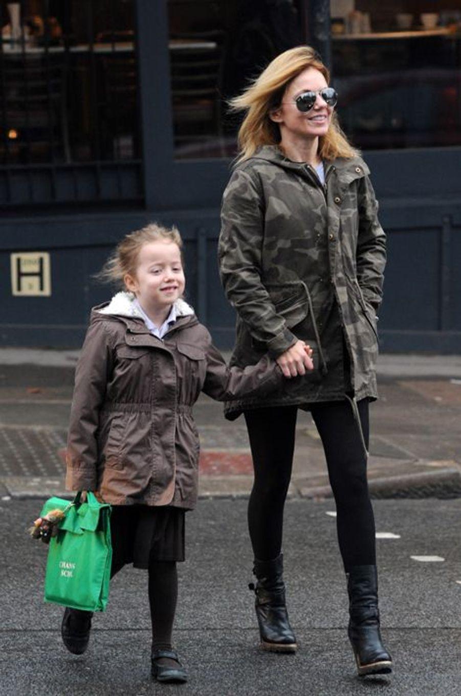 L'ancienne Spice Girl est maman d'une fillette de 8 ans, Bluebell Madonna.