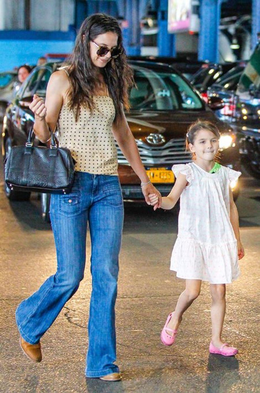 De son mariage avec Tom Cruise est née la petite Suri, bientôt âgée de 9 ans.