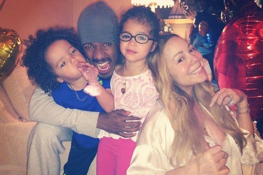 La diva et son ex-époux, Nick Cannon ont eu des jumeaux dizygotes : Moroccan et Monroe.