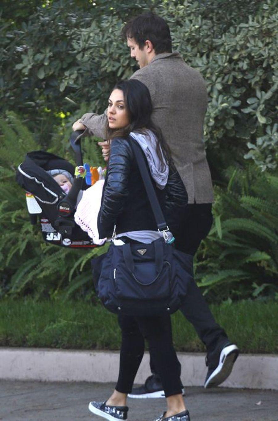 La star américaine et son époux, Ashton Kutcher, ont accueilli une petite Wyatt - Isabelle de son second prénom - en septembre dernier.
