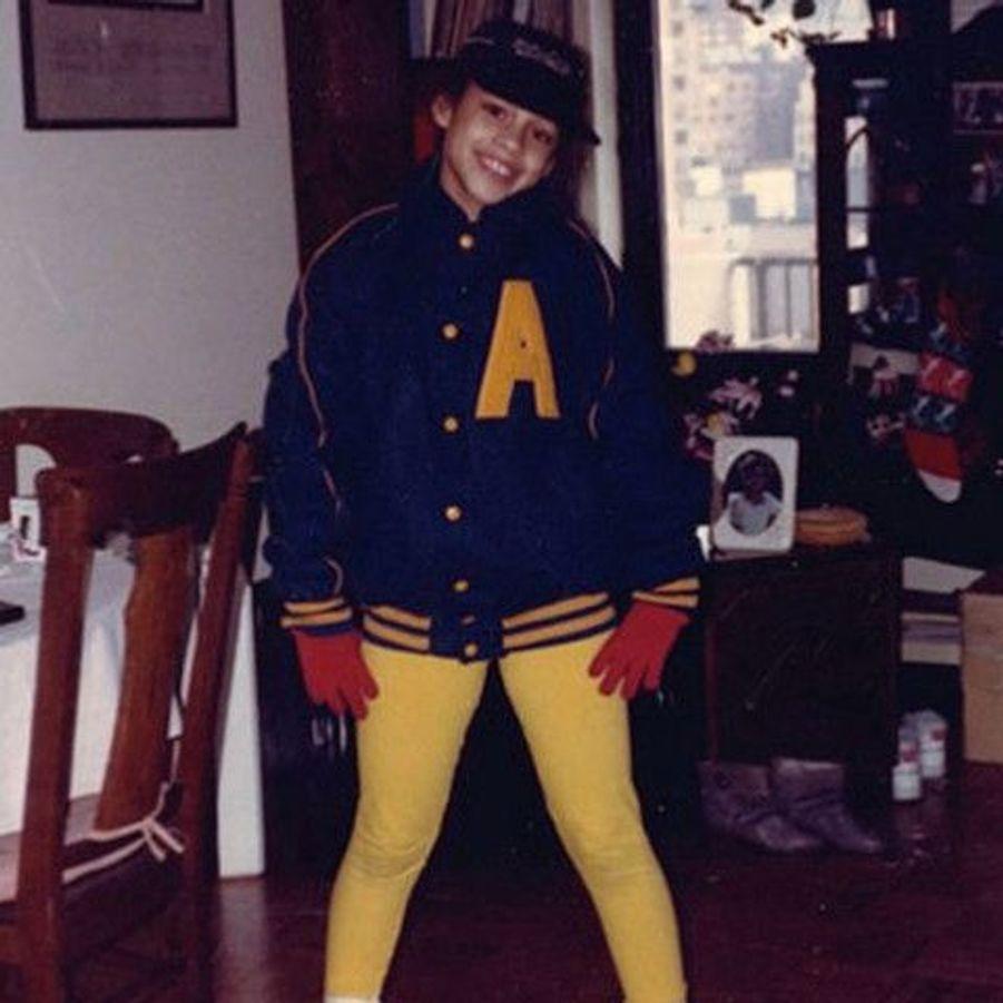 Dès l'enfance, cette star avait déjà le look «Too cool for School»...