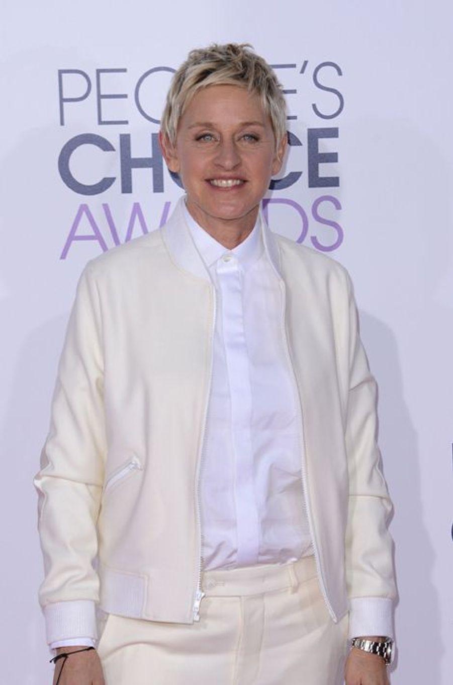 Il s'agit d'Ellen DeGeneres