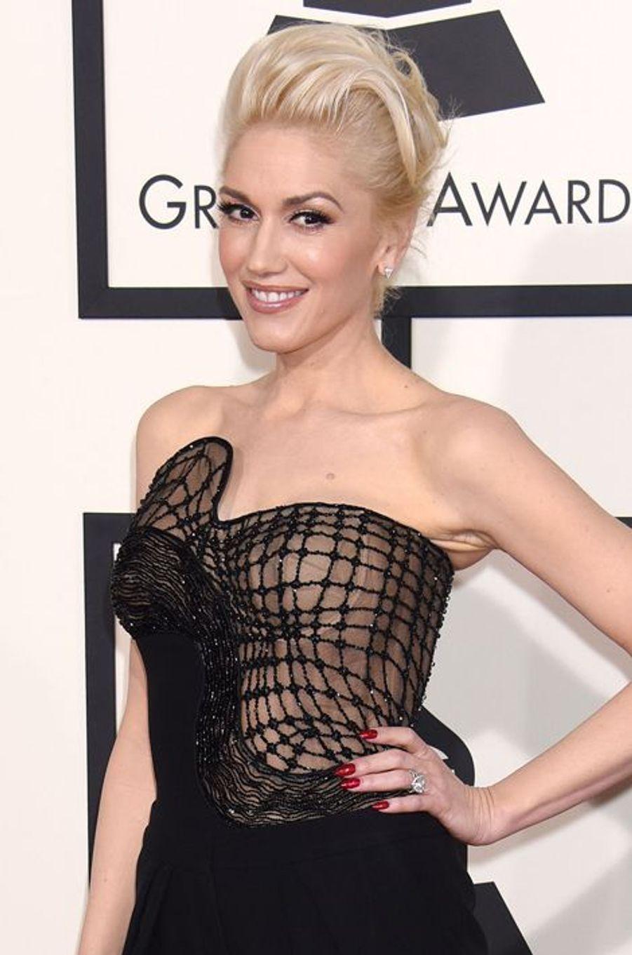 Il s'agit de Gwen Stefani