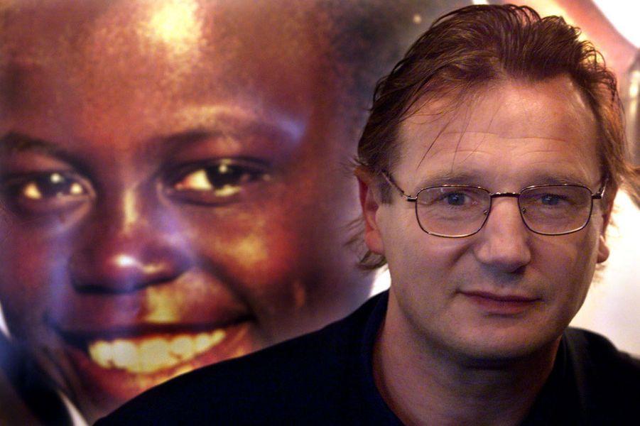 Liam Neeson, mécène spécial de l'Unicef en Irlande