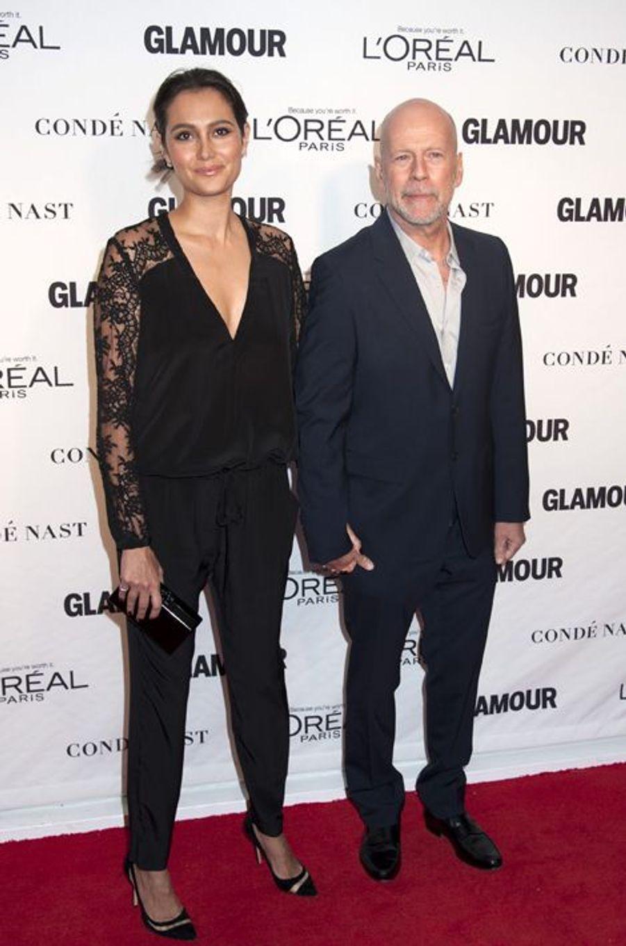 Bruce Willis et sa femme Emma