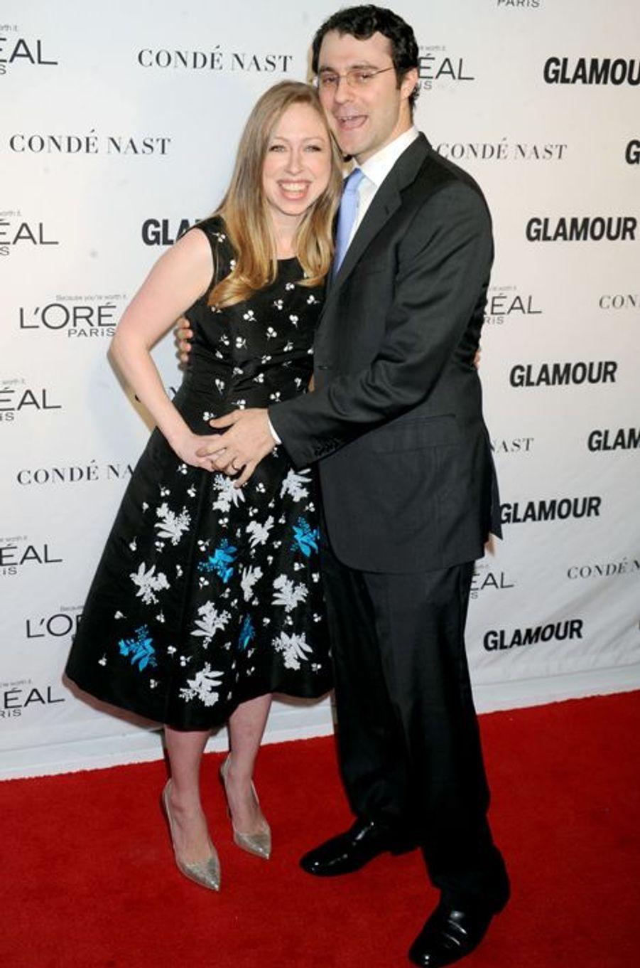 Chelsea Clinton et son mari Marc Mezvinsky