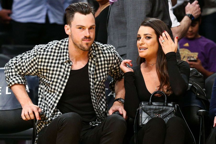 Matthew Paetz et Lea Michele