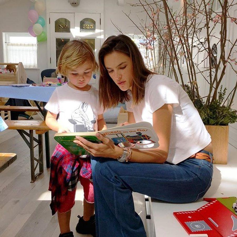 Alessandra Ambrosio et son fils