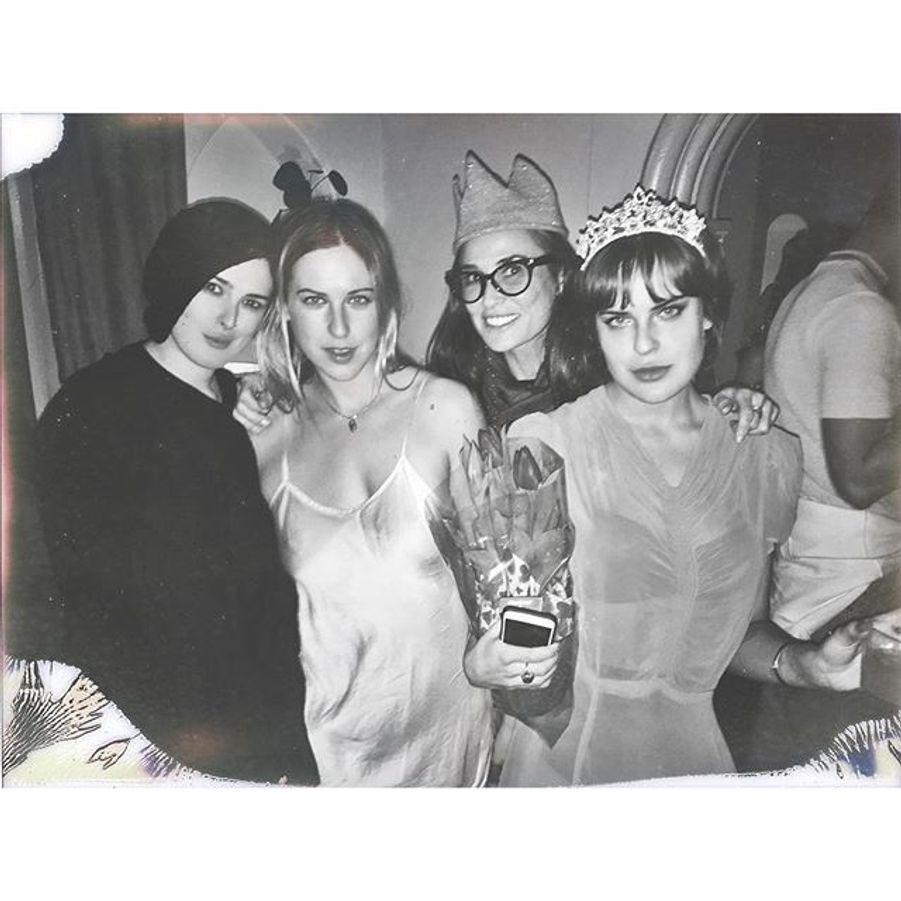 Demi Moore et ses filles