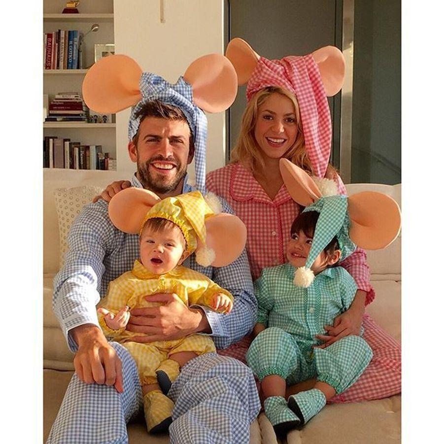 Gerard Piqué, Shakira et leurs fils