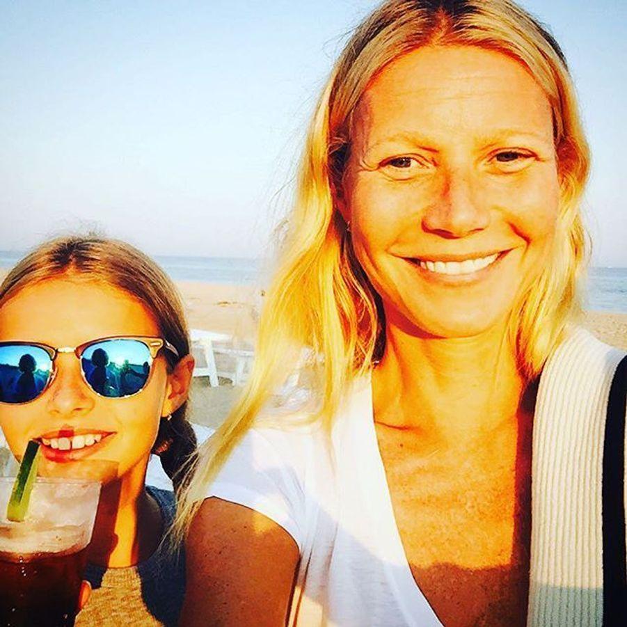 Gwyneth Paltrow et sa fille
