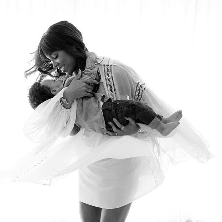 Kelly Rowland et son fils