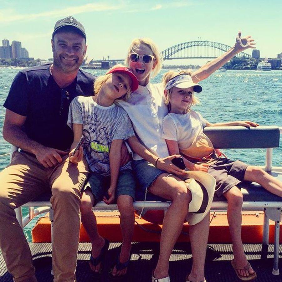 Liev Schreiber, Naomi Watts et leurs jumeaux