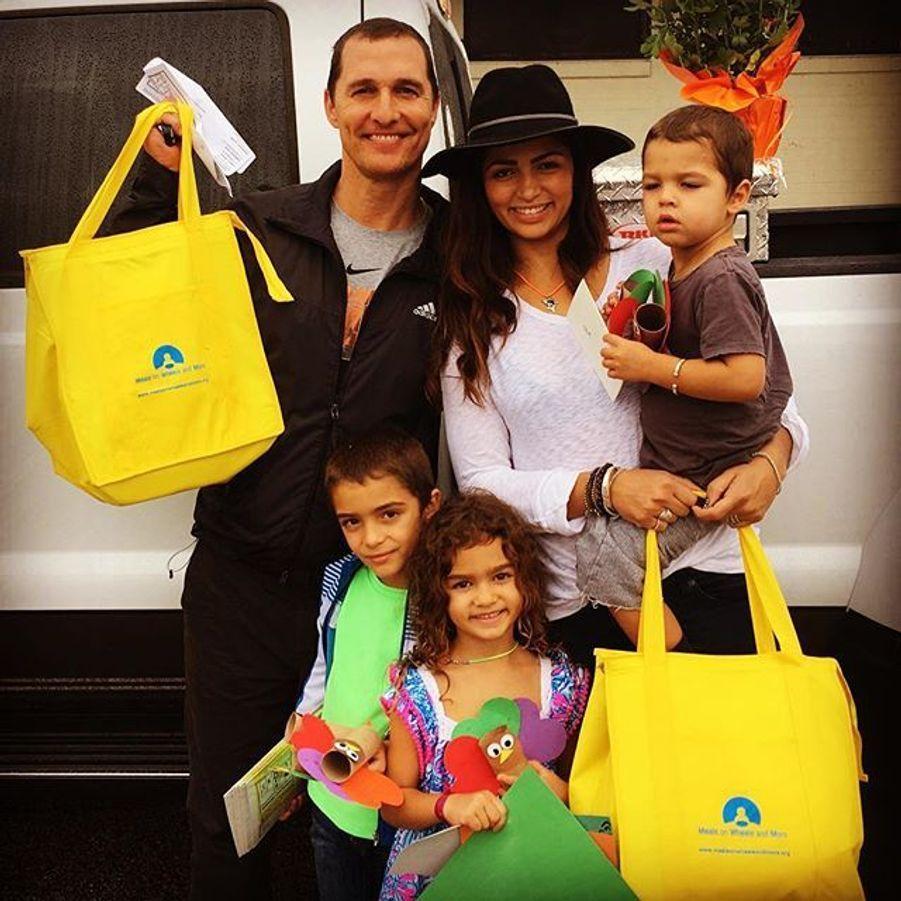 Matthew McConaughey en famille