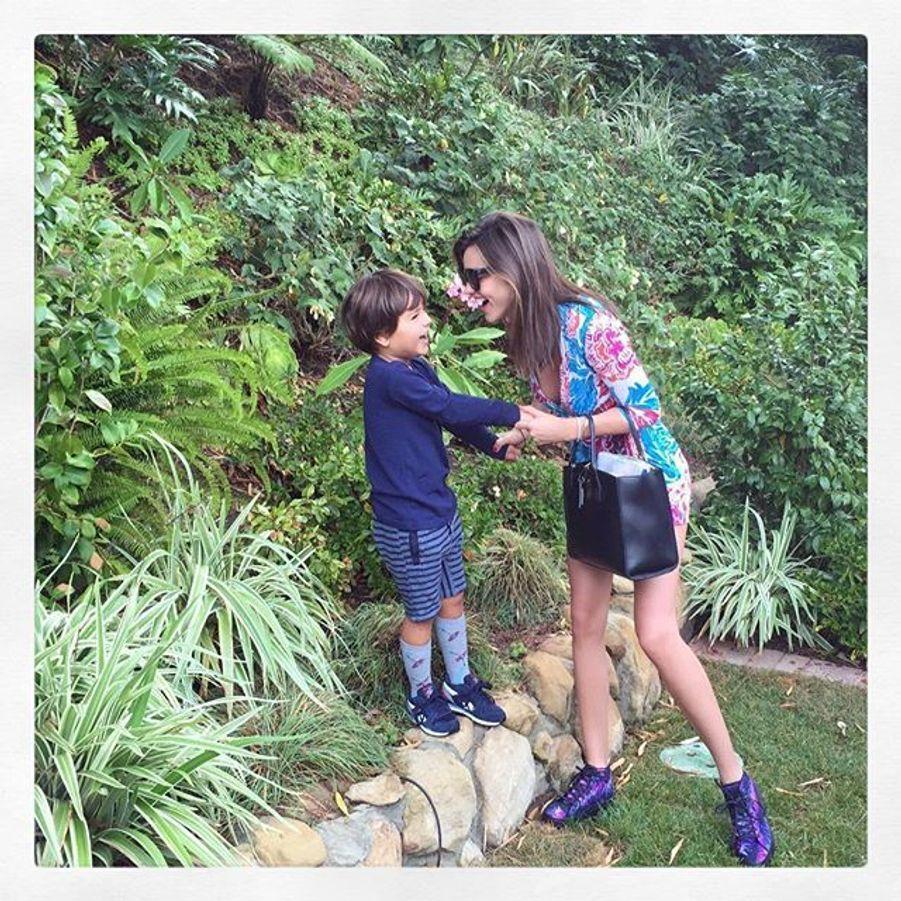 Miranda Kerr et son fils