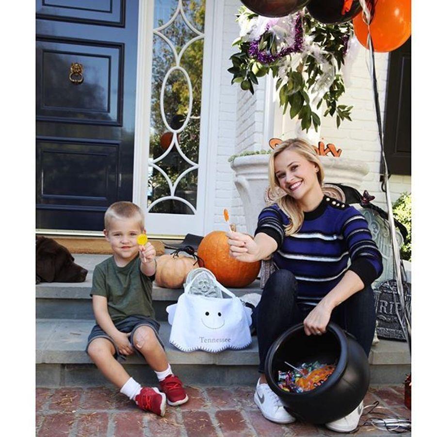 Reese Witherspoon et son petit dernier