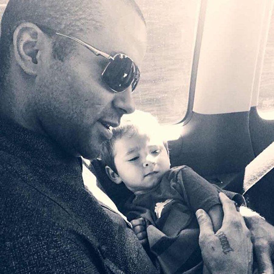 Tony Parker et son fils