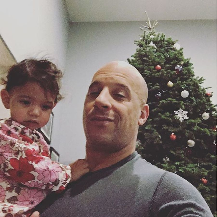 Vin Diesel et sa petite dernière