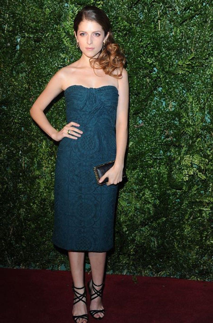 Anna Kendrick à Londres le 30 novembre 2014