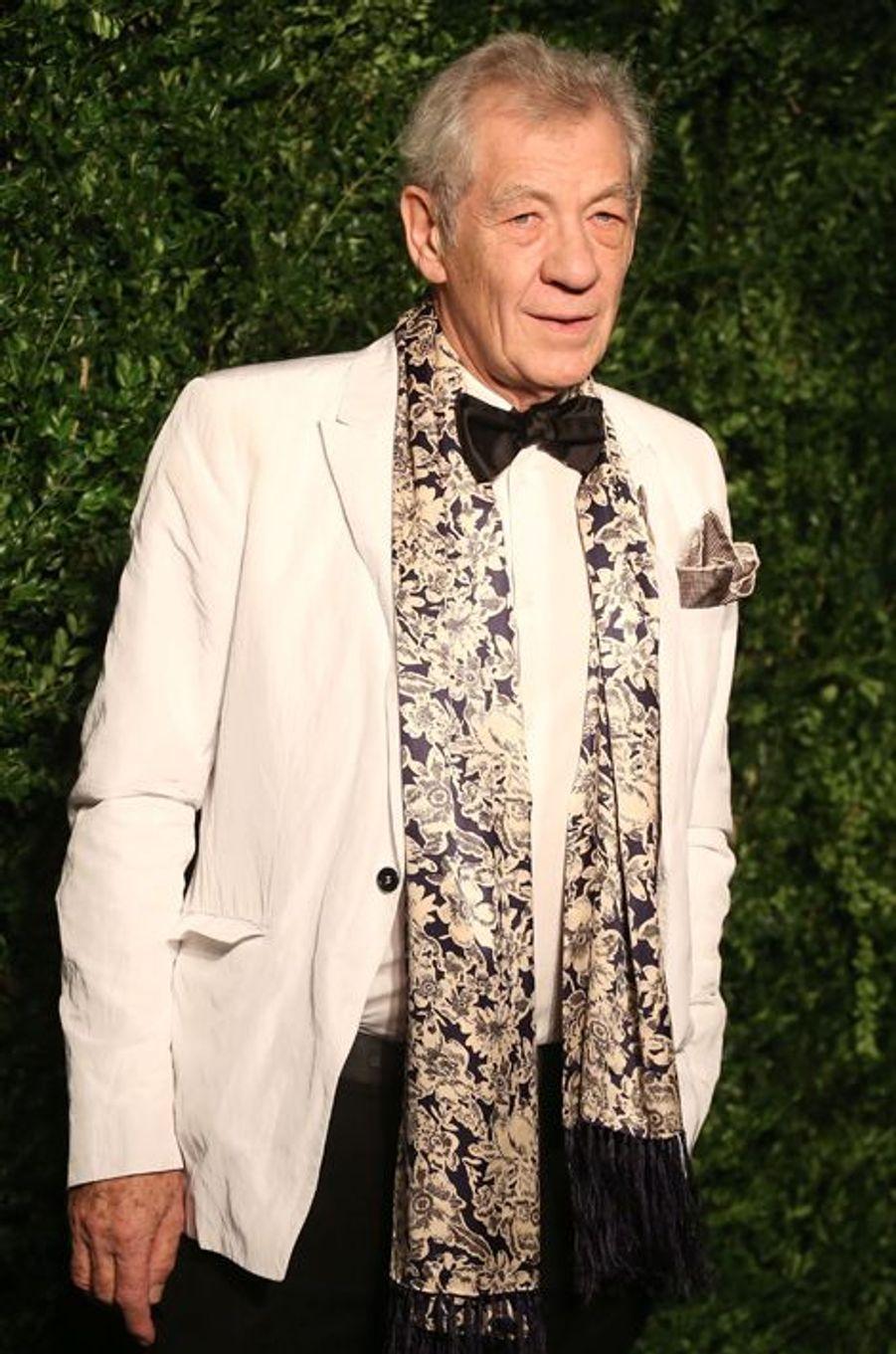 Ian McKellen à Londres le 30 novembre 2014