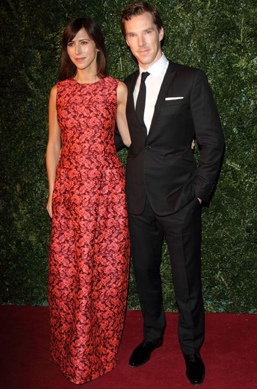 Sophie Hunter et Benedict Cumberbatch à Londres le 30 novembre 2014