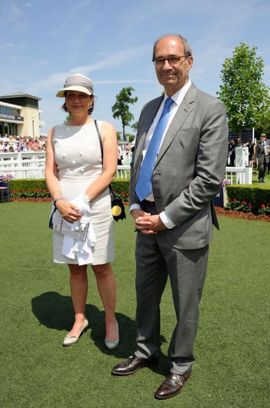 Eric Woerth et sa femme