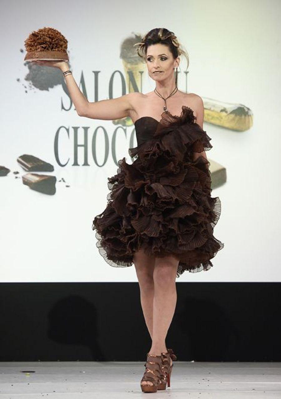 Adeline Blondieau à Paris le 28 octobre 2014