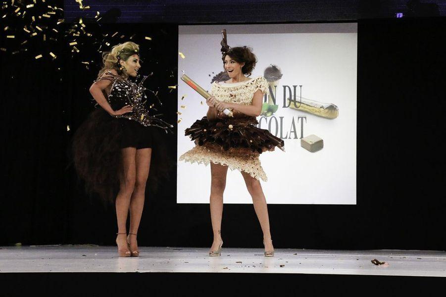 Ariane Brodier et Rachel Legrain-Trapani à Paris le 28 octobre 2014