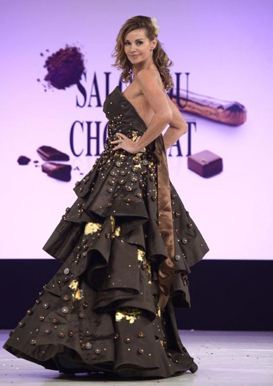 Ingrid Chauvin à Paris le 28 octobre 2014