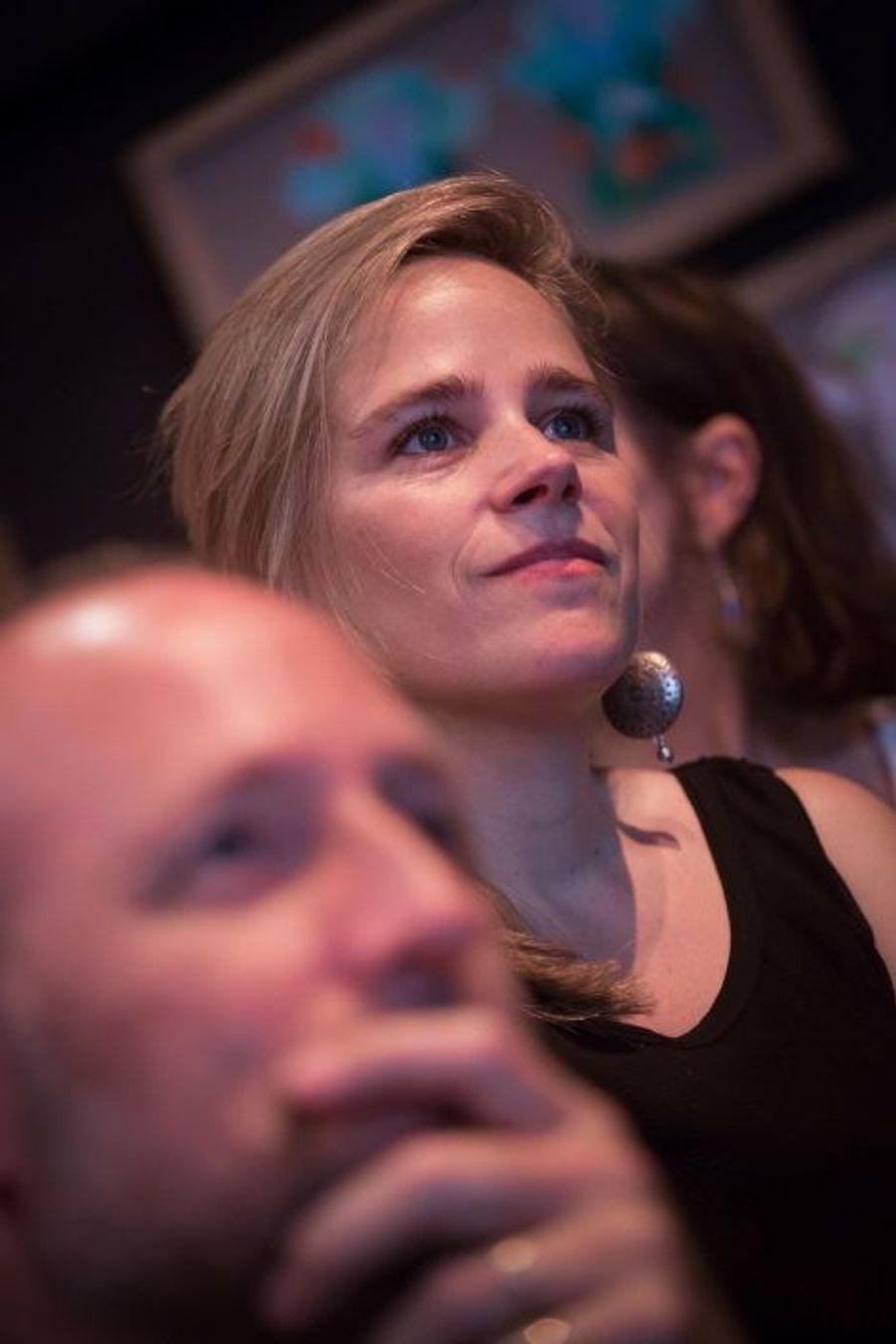 Elodie Thébault, enseignante au sein de l'atelier art plastique
