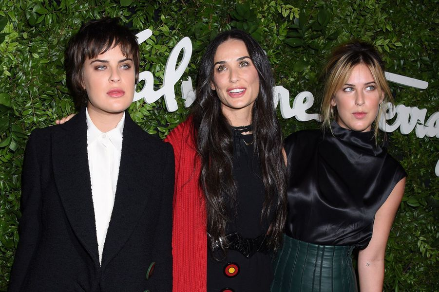 Demi Moore emmène ses filles à une soirée d'exception
