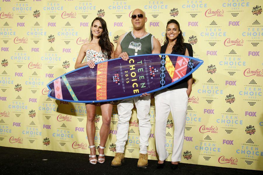 Jordana Brewster, Vin Diesel, Michelle Rodriguez