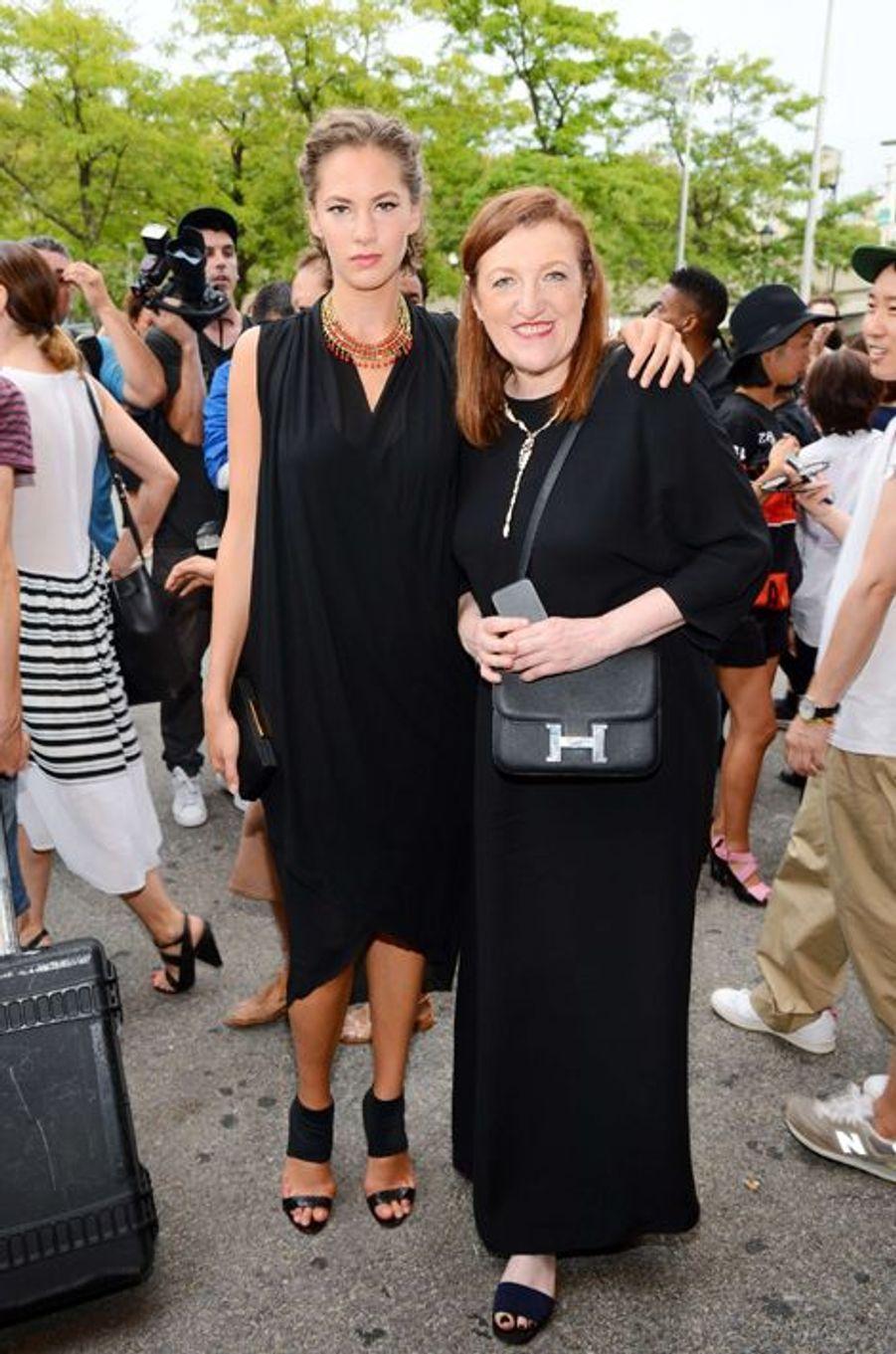 Emma Ferrer au défilé Alexander Wang, le 6 septembre à New York