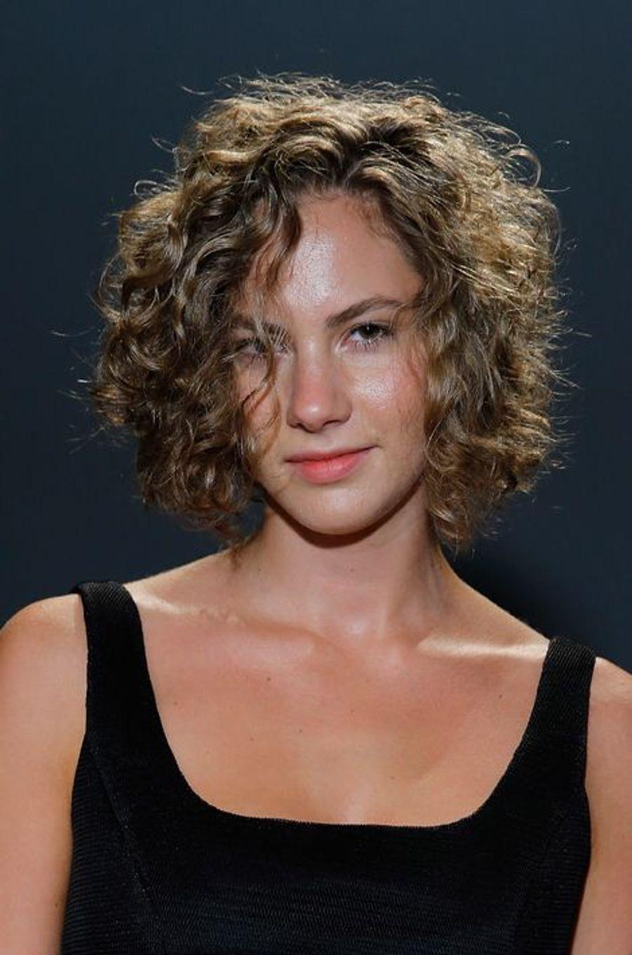 Emma Ferrer au défilé Milly By Michelle Smith, le 8 septembre à New York
