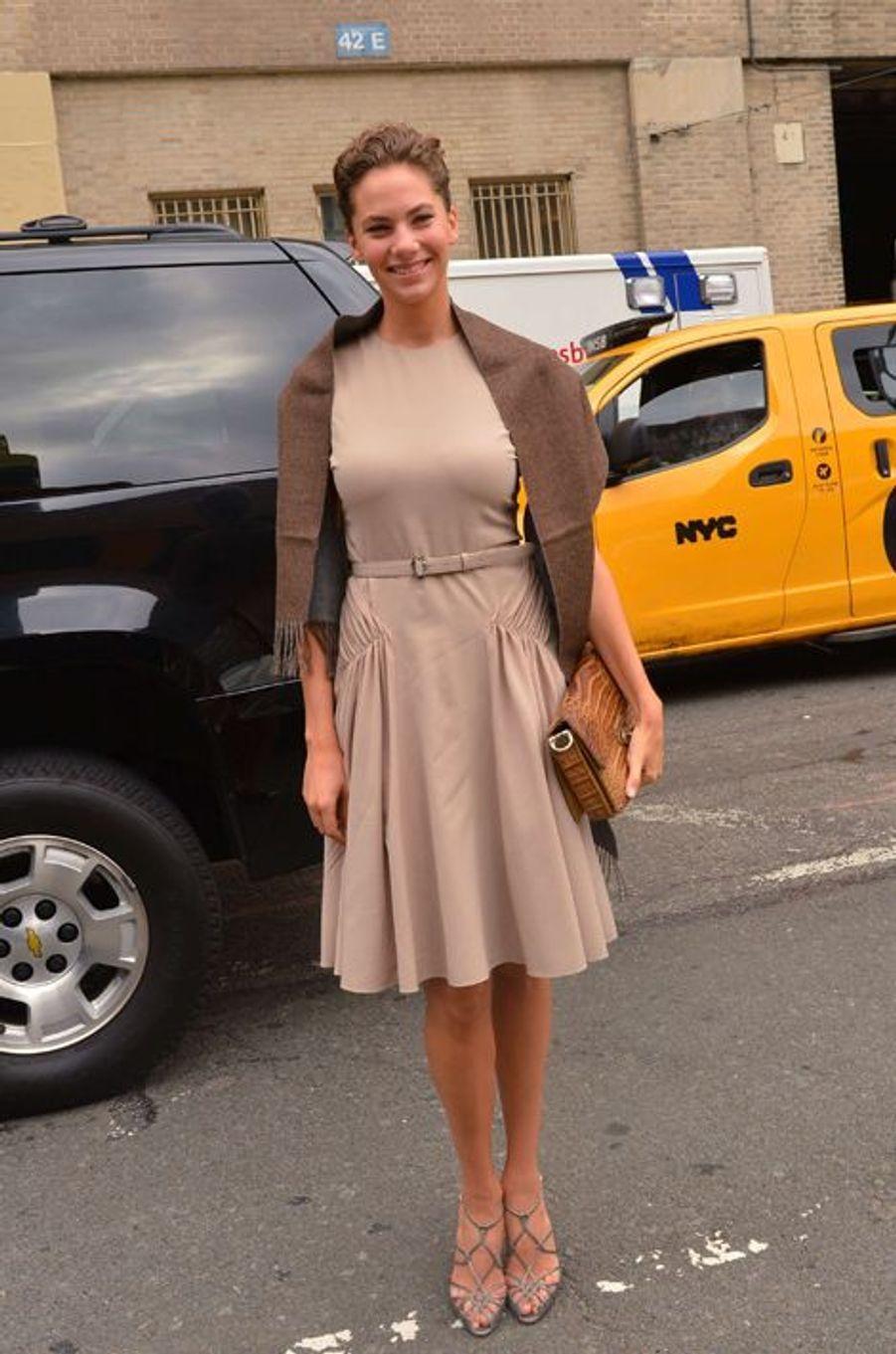 Emma Ferrer au défilé Ralph Lauren, le 11 septembre à New York