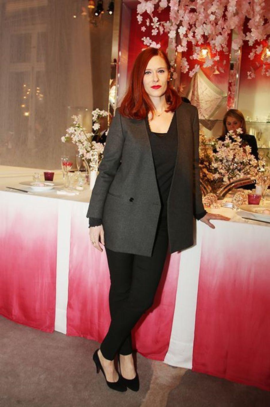 Audrey Fleurot à Paris le 22 janvier 2016