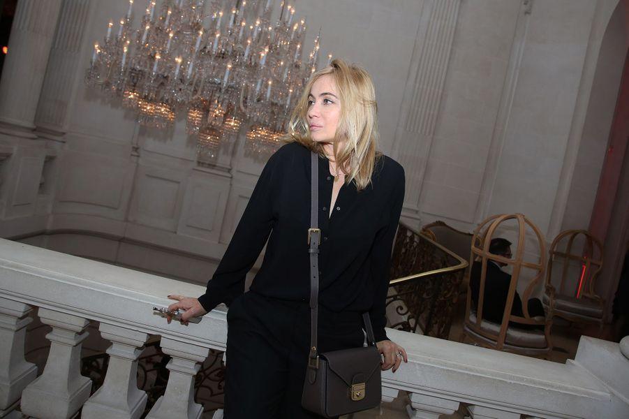 Emmanuelle Béart à Paris le 22 janvier 2016