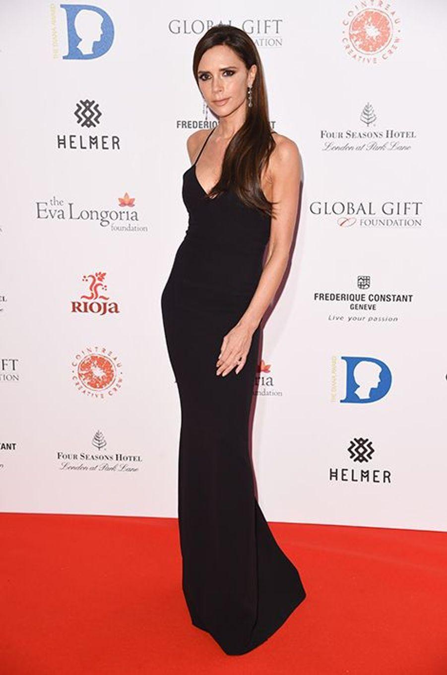 Victoria Beckham à Londres le 30 novembre 2015