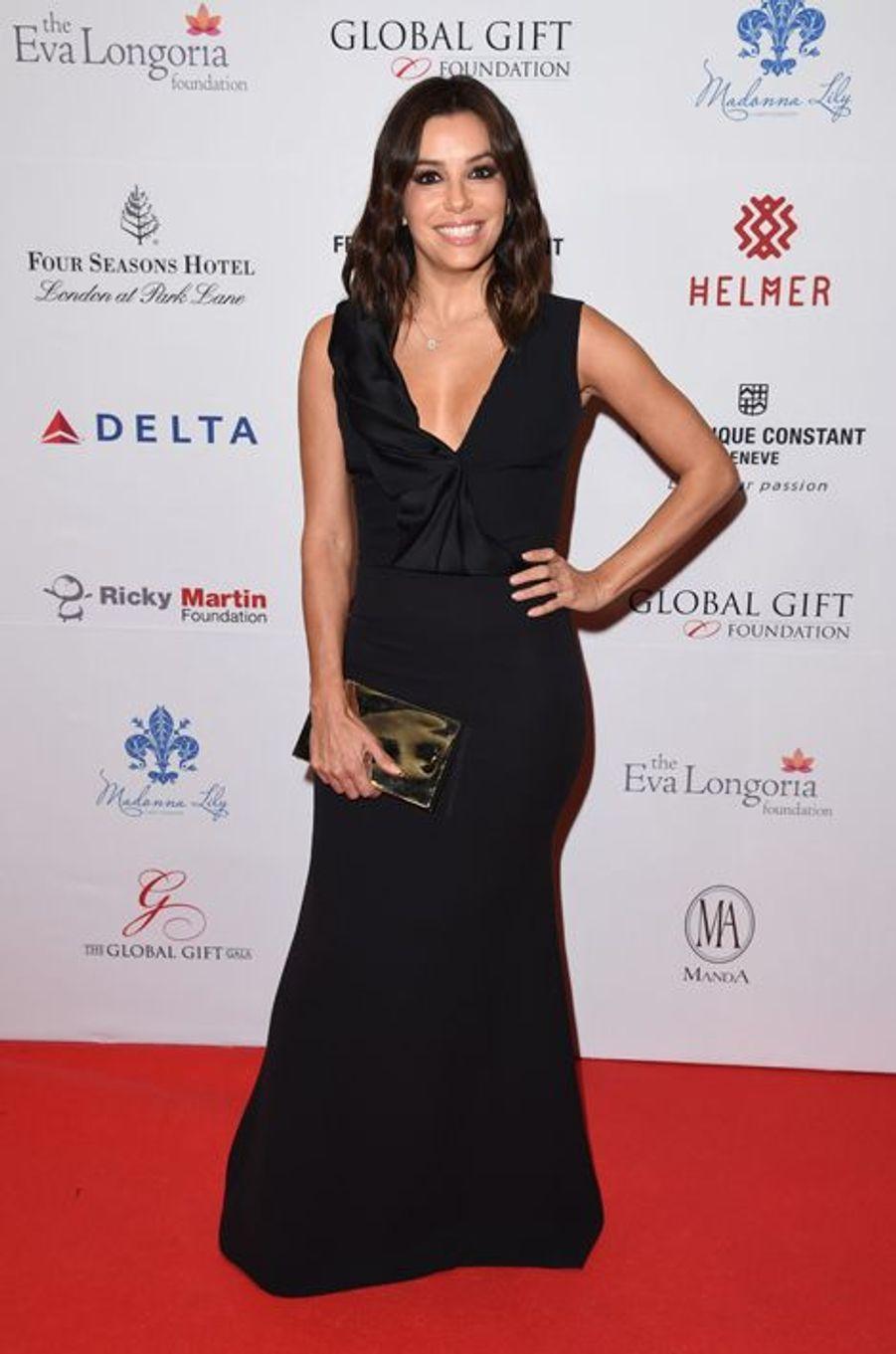 Eva Longoria à Londres le 17 novembre 2014