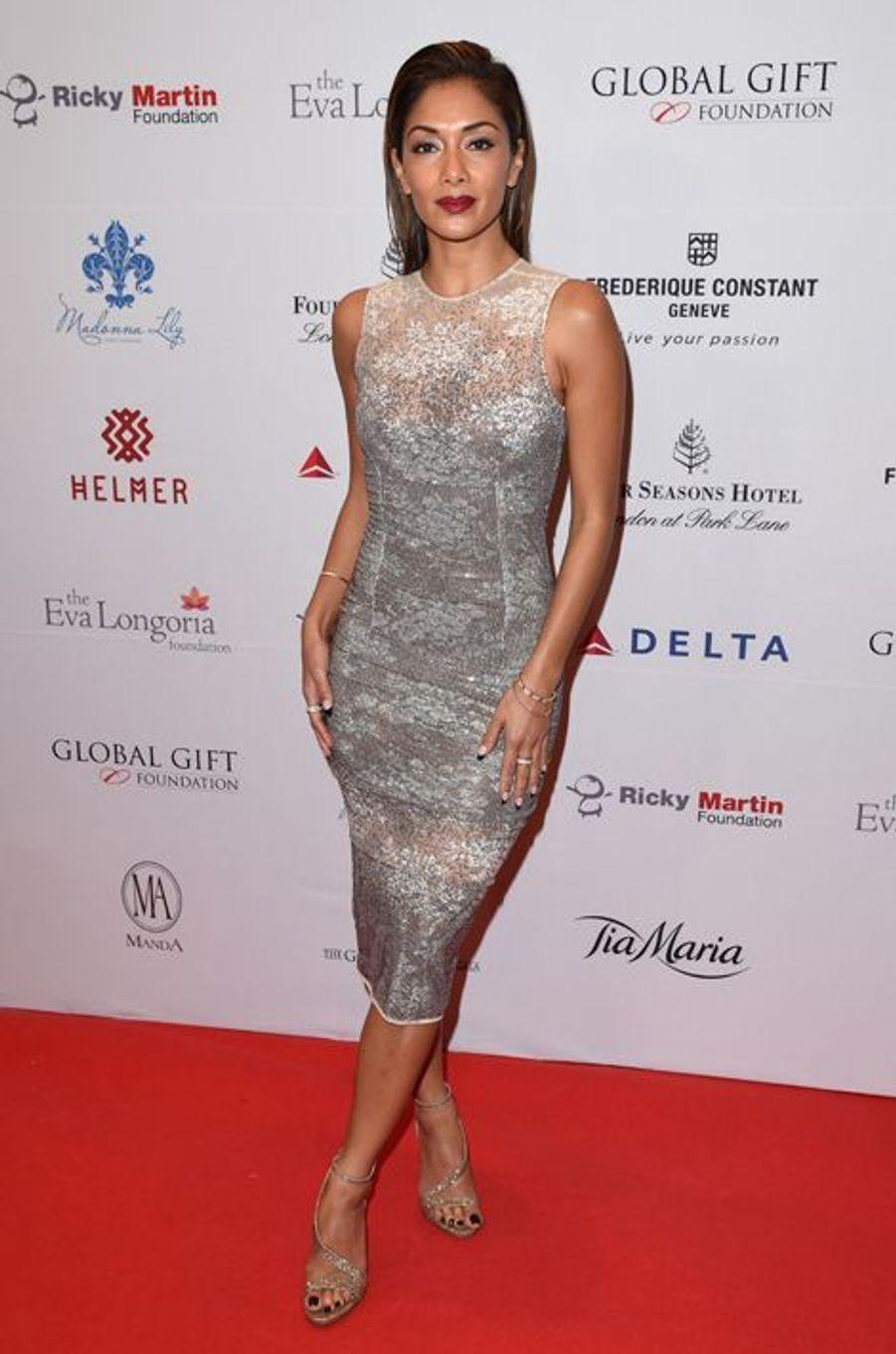 Nicole Scherzinger à Londres le 17 novembre 2014