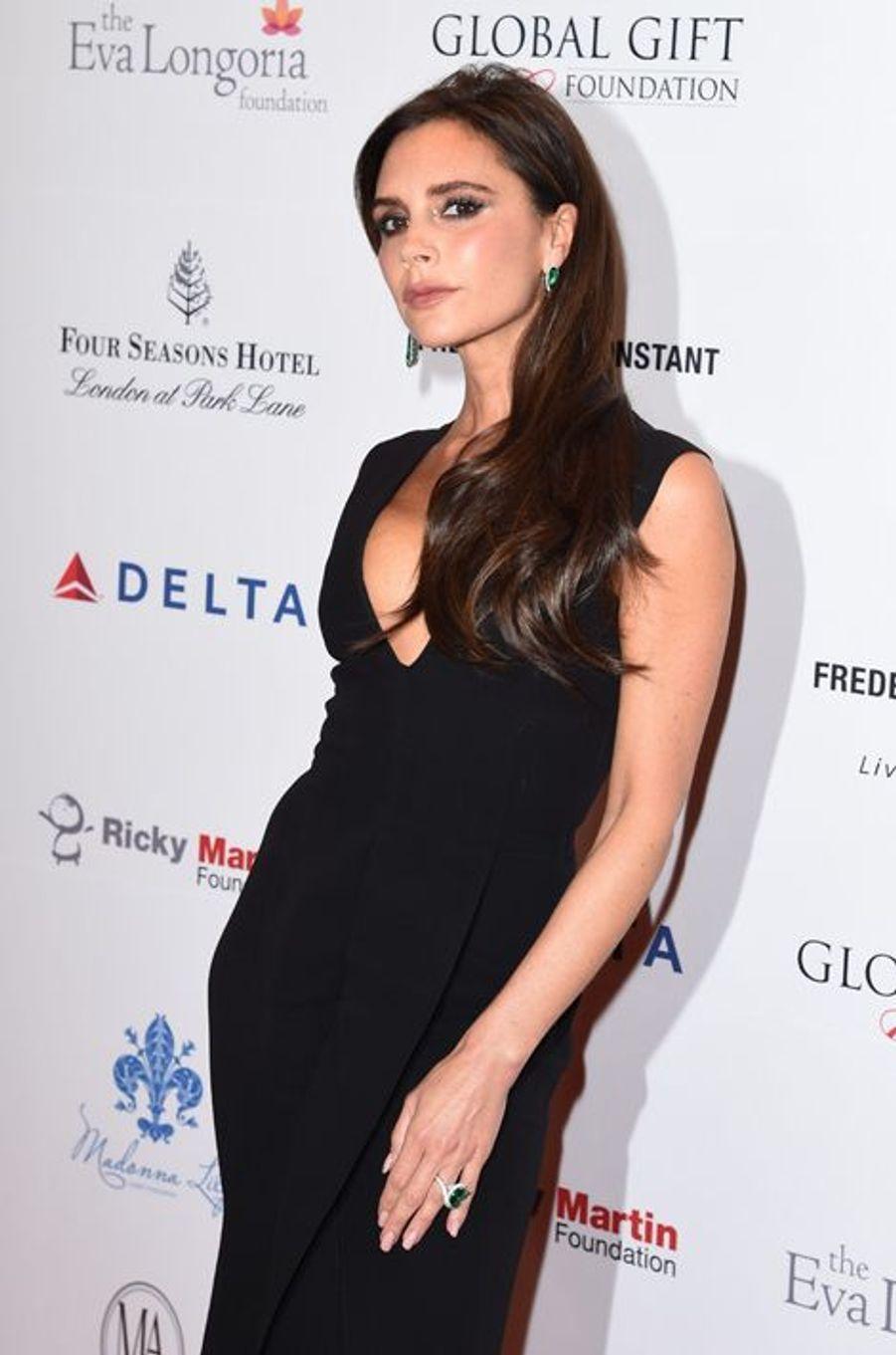 Victoria Beckham à Londres le 17 novembre 2014