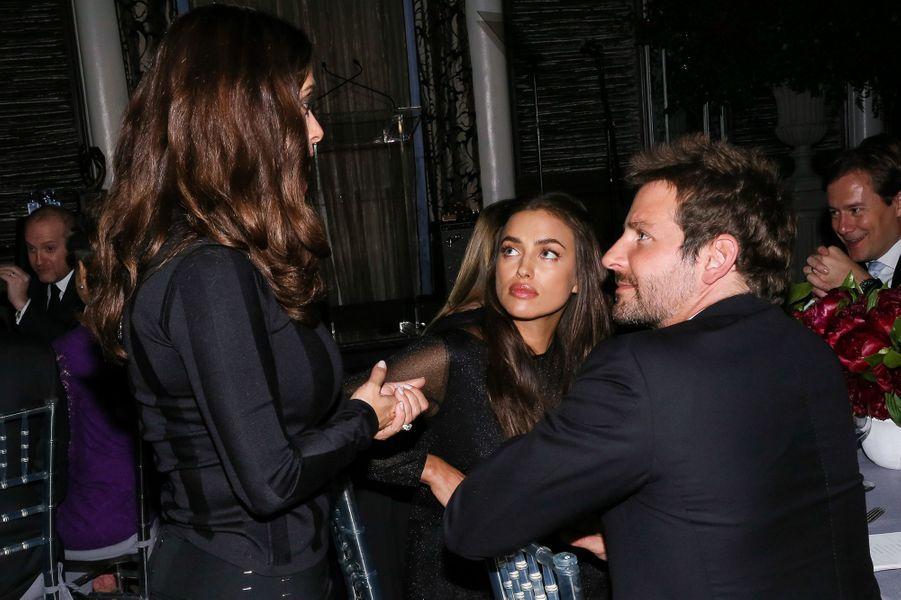 Salma Hayek, Bradley Cooper et Irina Shayk