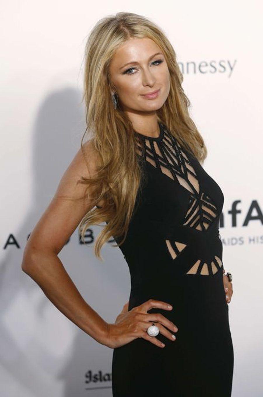 Paris Hilton à Hong Kong le 14 mars 2015