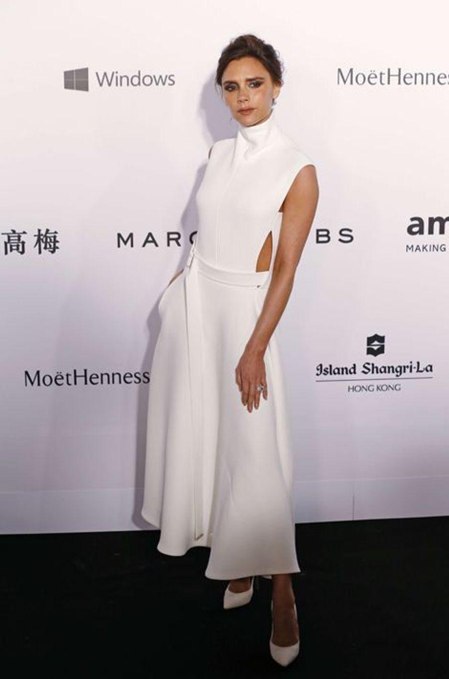 Victoria Beckham à Hong Kong le 14 mars 2015