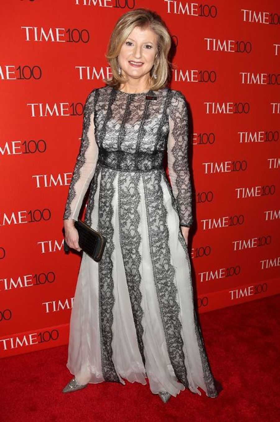 Arianna Huffington à New York le 21 avril 2015