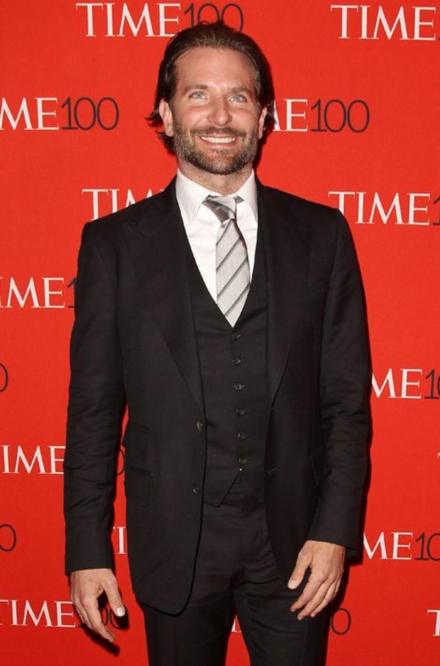 Bradley Cooper à New York le 21 avril 2015
