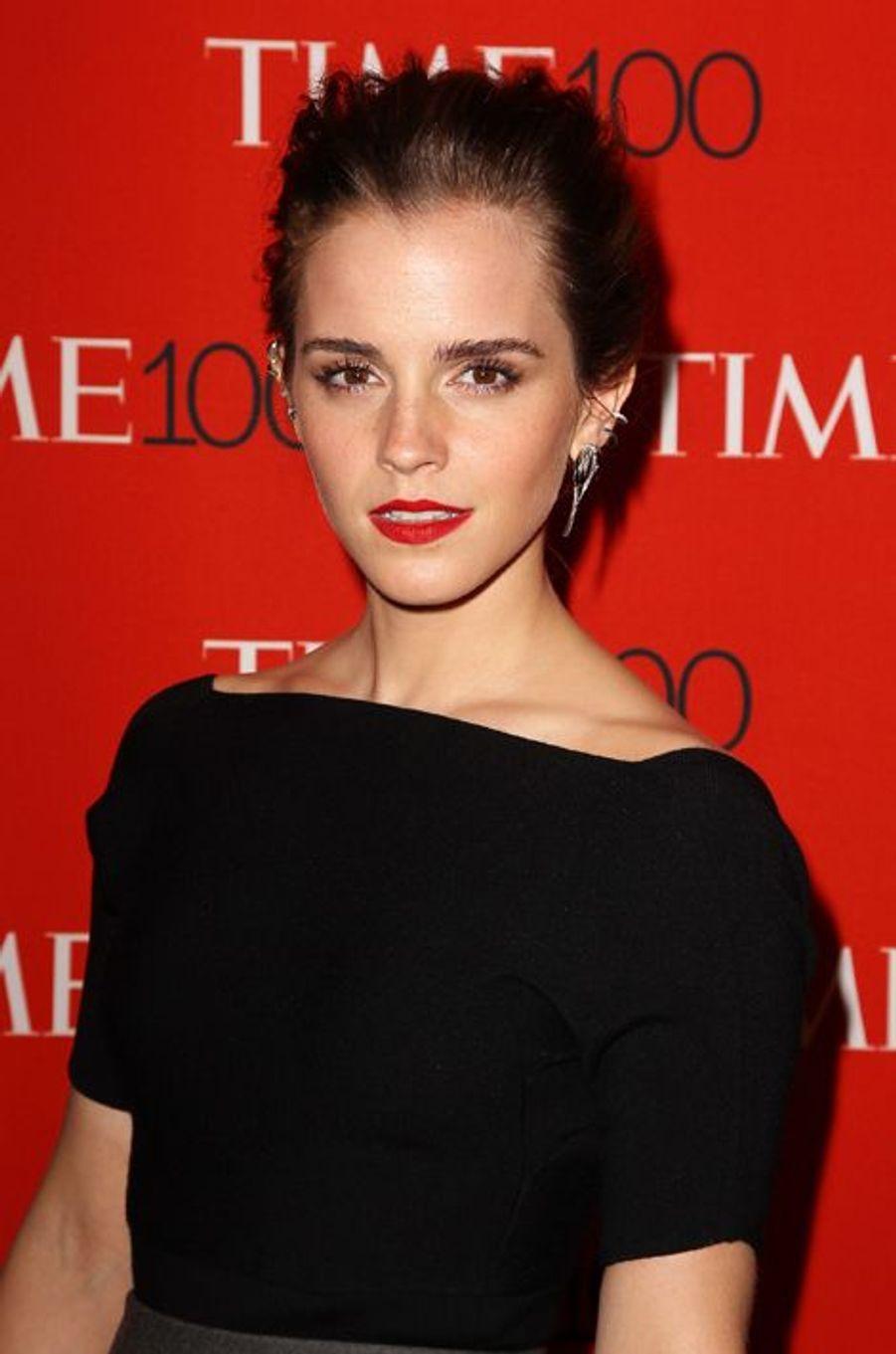 Emma Watson à New York le 21 avril 2015